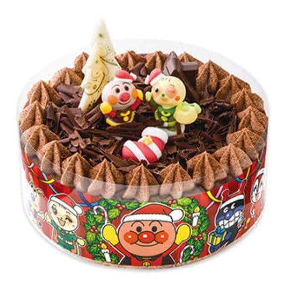 クリスマスケーキ_アンパンマン_不二家