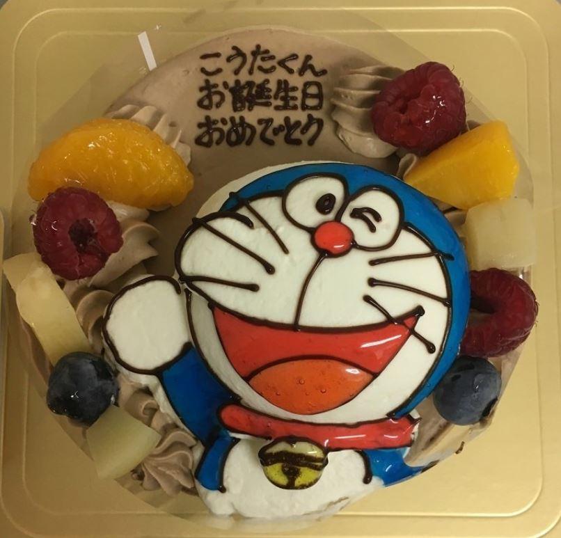 クリスマスケーキ_ドラえもん_ギフトモール菓子夢