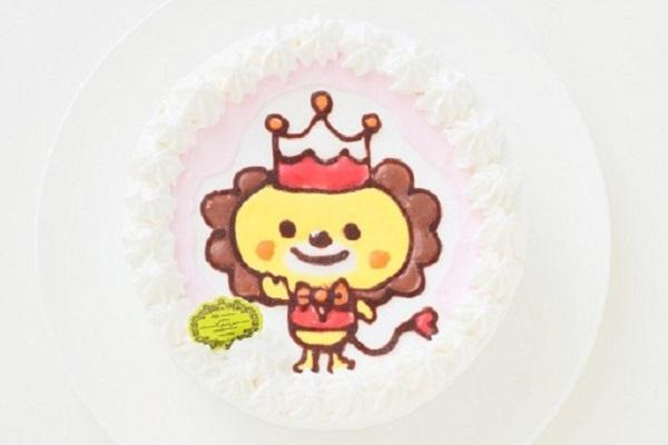 キャラクターのイラストケーキは「プティパ」