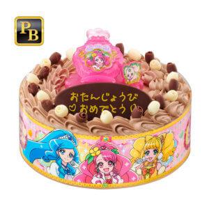 ヒーリングっどプリキュアの誕生日ケーキ