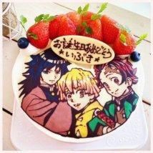 鬼滅の刃 誕生日ケーキ