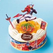 「イトーヨーカドー」の仮面ライダーセイバー クリスマスケーキ