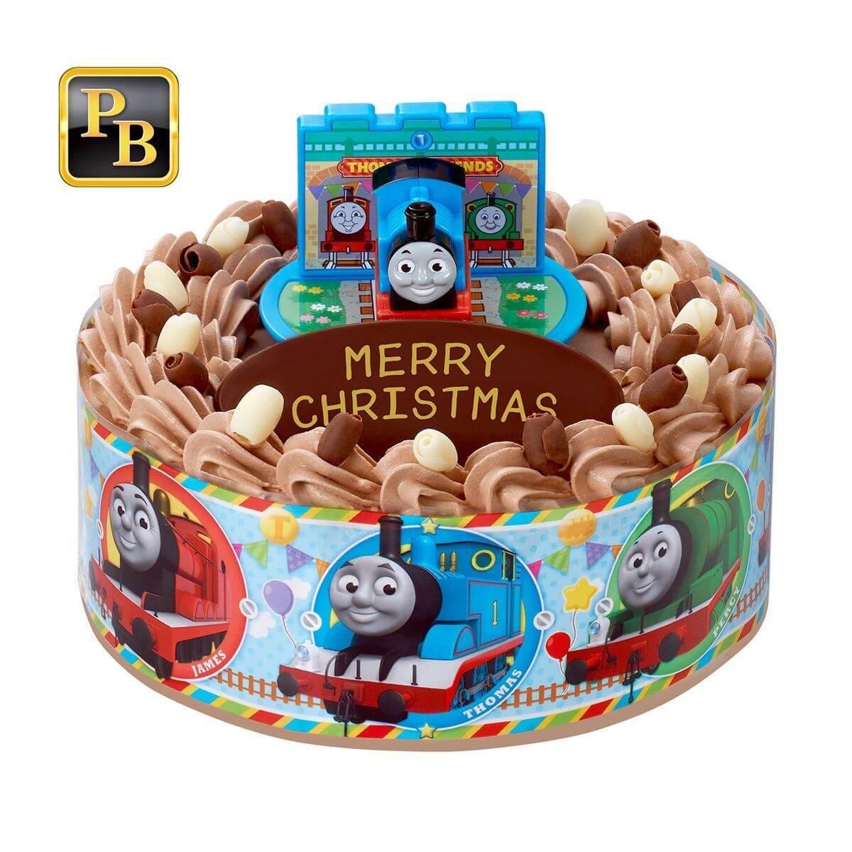 バンダイプレミアム「きかんしゃトーマス」クリスマスケーキ