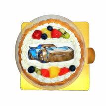 ファンデコ_カーズのデコレーションケーキ