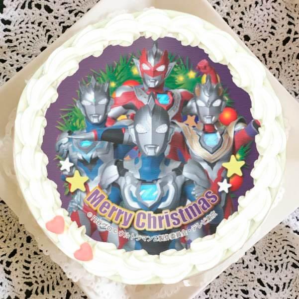 「プリロール」ウルトラマンゼットのクリスマスケーキ