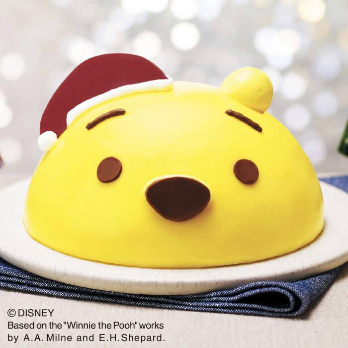 「セブンイレブン」プーさんのクリスマスケーキ