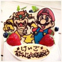 「torte」のスーパーマリオケーキ