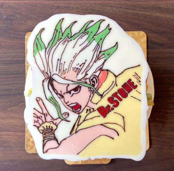 「パティスリーモンターニュ」のドクターストーンケーキ