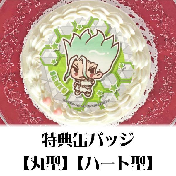 「プリロール」のドクターストーンケーキ