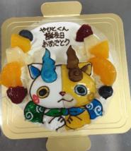 「カトルセゾン菓子夢」の妖怪ウォッチケーキ