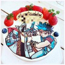 torteの誕生日ケーキ