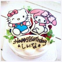 「Torte」のハローキティケーキ