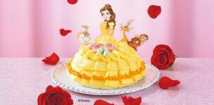 セブンイレブンのディズニープリンセスケーキ