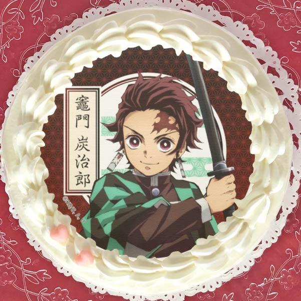 「プリロール」の鬼滅の刃ケーキ